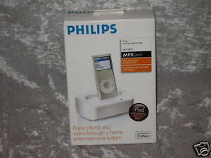 Philips-Docking-Cradle-for-iPod-MP3-Gear-Charge-NEW