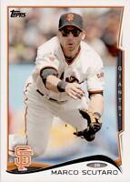 2014 Topps #423 Marco Scutaro San Francisco Giants