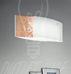 sospensione lampada lampadario vetro salone soggiorno camera da ...