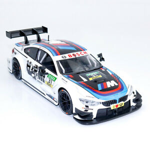 1-24-Scale-BMW-M4-DTM-Racing-Car-Model-Diecast-Vehicle-Collection-White-Gift