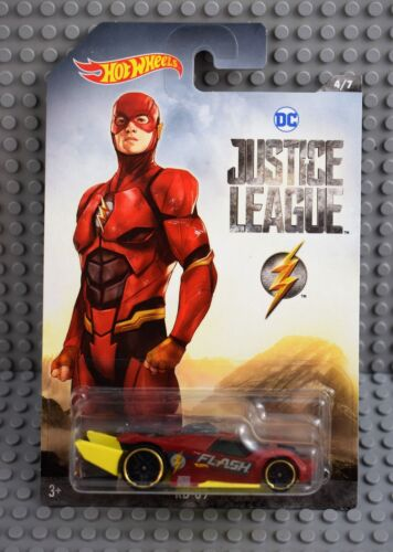 Hot Wheels Justice League The Flash rd 09 en 1:64 nuevo /& OVP