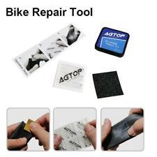 Bike Bicycle Flat Tire Repair Kit Tool Set Kit Patch Rubber Portable Fetal ER