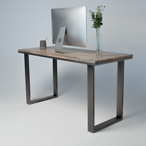 Details About Ebonised Maple Desk Table Modern Design 3 Sizes Available
