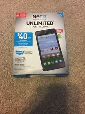 Alcatel Onetouch Sonic LTE Android Smartphone for Net10 - NEW