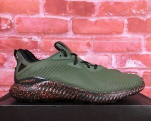 ADIDAS-ALPHABOUNCE-1-M-OLIVE-GREEN-BOUNCE-CQ0402-MEN-039-S-RUNNING-SHOES-SIZES