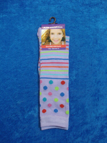 Elite Collection Girls Knee High Socks 12 Colors To Choose