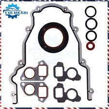Timing Chain Cover With Water Pump Gaskets Amp Main Seal For Gm Ls1 48l 53l 57l