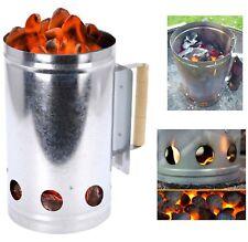 Chimney Charcoal Starter Lighting Kit Barbeque BBQ Grill Lighter Coal Burner