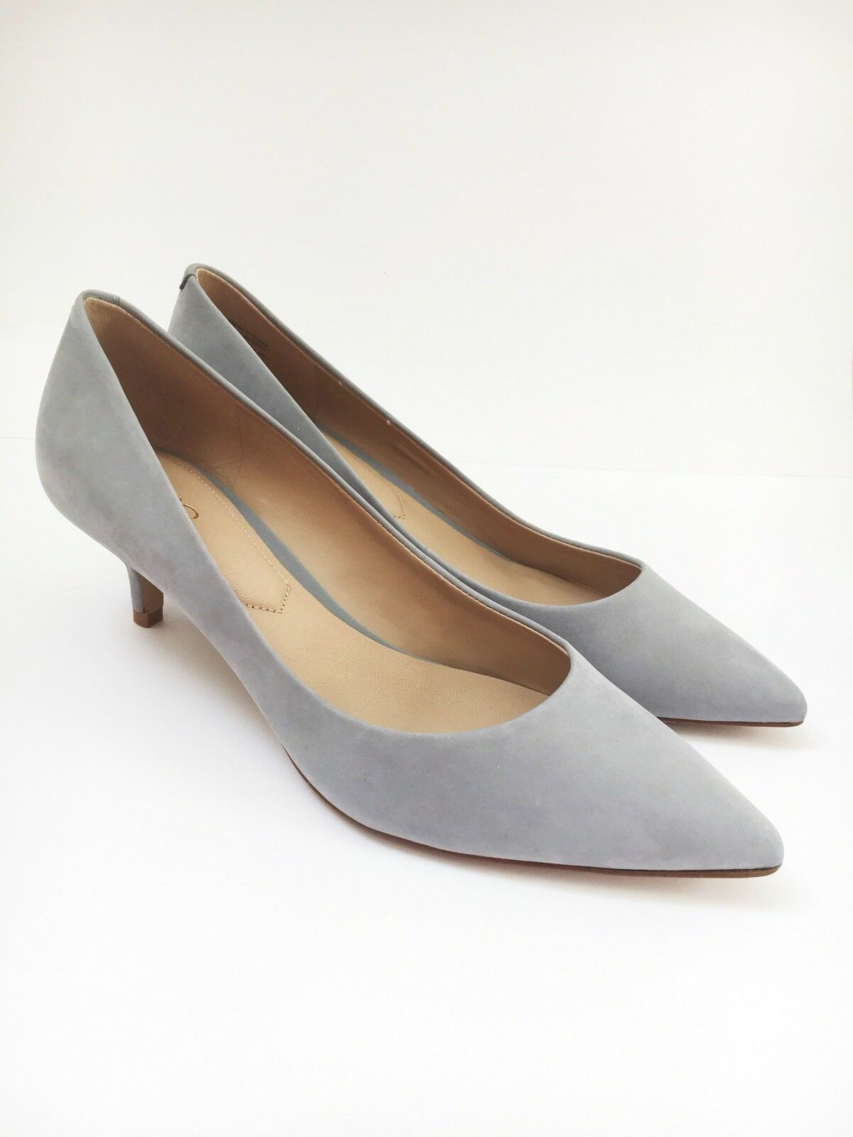 Aldo Aldo Aldo gris Gatito Tacón de gamuza legítima Couet zapatos talla 5  envío gratuito a nivel mundial