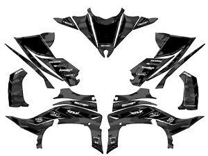 Yamaha YFZ450R 2014 2015 2016 complete graphics kit