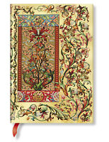 Paperblanks Unlined Writing Journal Tuscan Sun Gold Bronze Midi Size 5x7