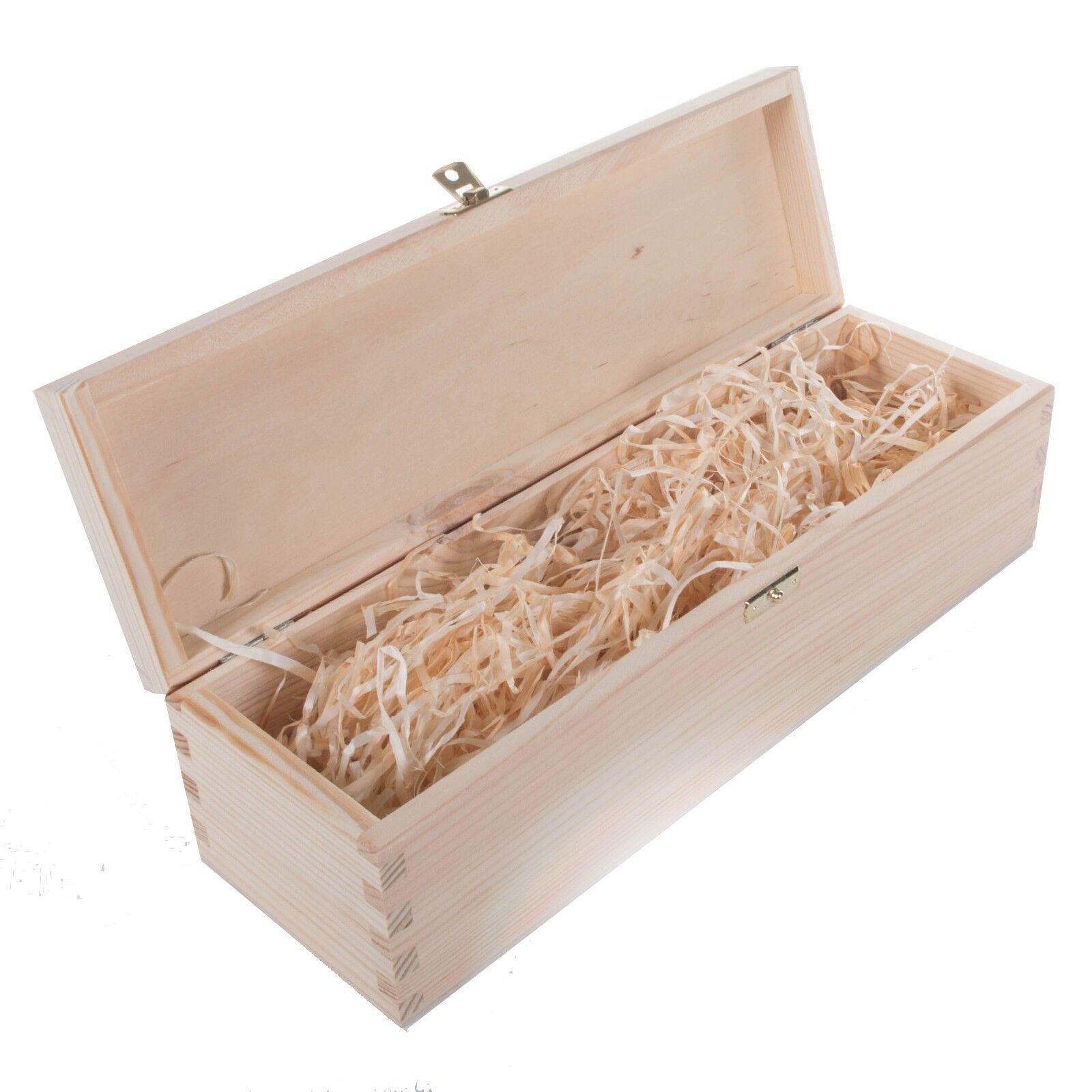Coffret vin avec laine de bois/1/2/3 bouteilles cadeau simple en bois cadeau bouteilles Case DECOUPIS Holder 903737