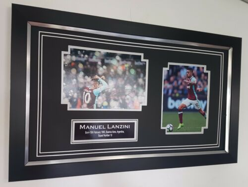 NEW MANUEL LANZINI Signed Photo Picture Autograph