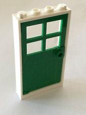 2x door frame 1x4x6 door frame type 2 dark green//dark green 60596 new Lego