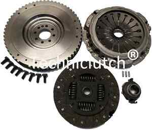 Peugeot-Expert-Van-2-0HDI-2-0-HDI-Double-Masse-pour-Single-Mass-Flywheel-amp-Clutch-Kit