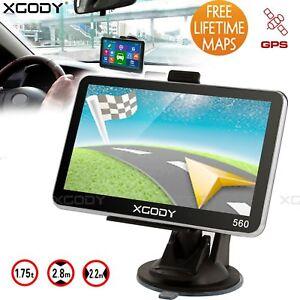 XGODY-5-034-GPS-Sat-Nav-8GB-ROM-128MB-Touch-Screen-Car-HGV-Voice-Navigation-System