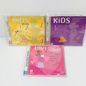 Kids-Silly-Songs-amp-Love-Songs-House-Party-Karaoke-3-Discs-58-Songs