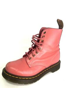 Details About Dr Martens Pascal Rear Women S Pink Ankle Boots Size Us 5 Eu 36 Uk 3