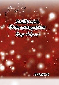 Endlich Neue Weihnachtsgedichte Von Birgit Marner 2015 Gebundene