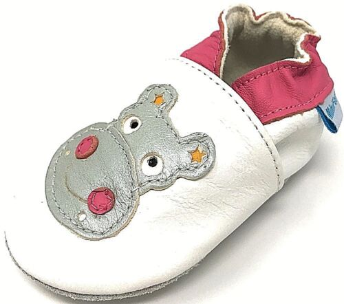 MINIFEET SOFT LEATHER BABY SHOES 0-6,6-12,12-18,18-24 MthS /& 2-3 Yrs Hippo