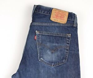 Levi-039-s-Strauss-amp-Co-Hommes-521-02-Jeans-Jambe-Droite-Taille-W38-L32-ATZ1496