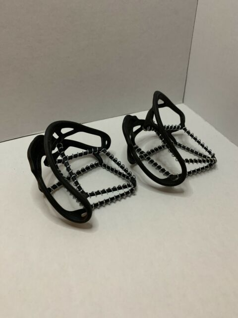 Yaktrax Walk Winter traction cleats for Snow Ice Size SMALL Spikeless Coil Desgn