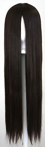 32-039-039-Long-Straight-No-Bangs-Chocolate-Brown-Cosplay-Wig-NEW