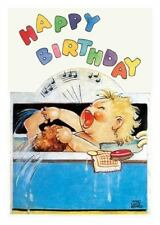 Birthday: Baby Singing in the Bath Birthday Card (2014, Cards,Flash Cards)