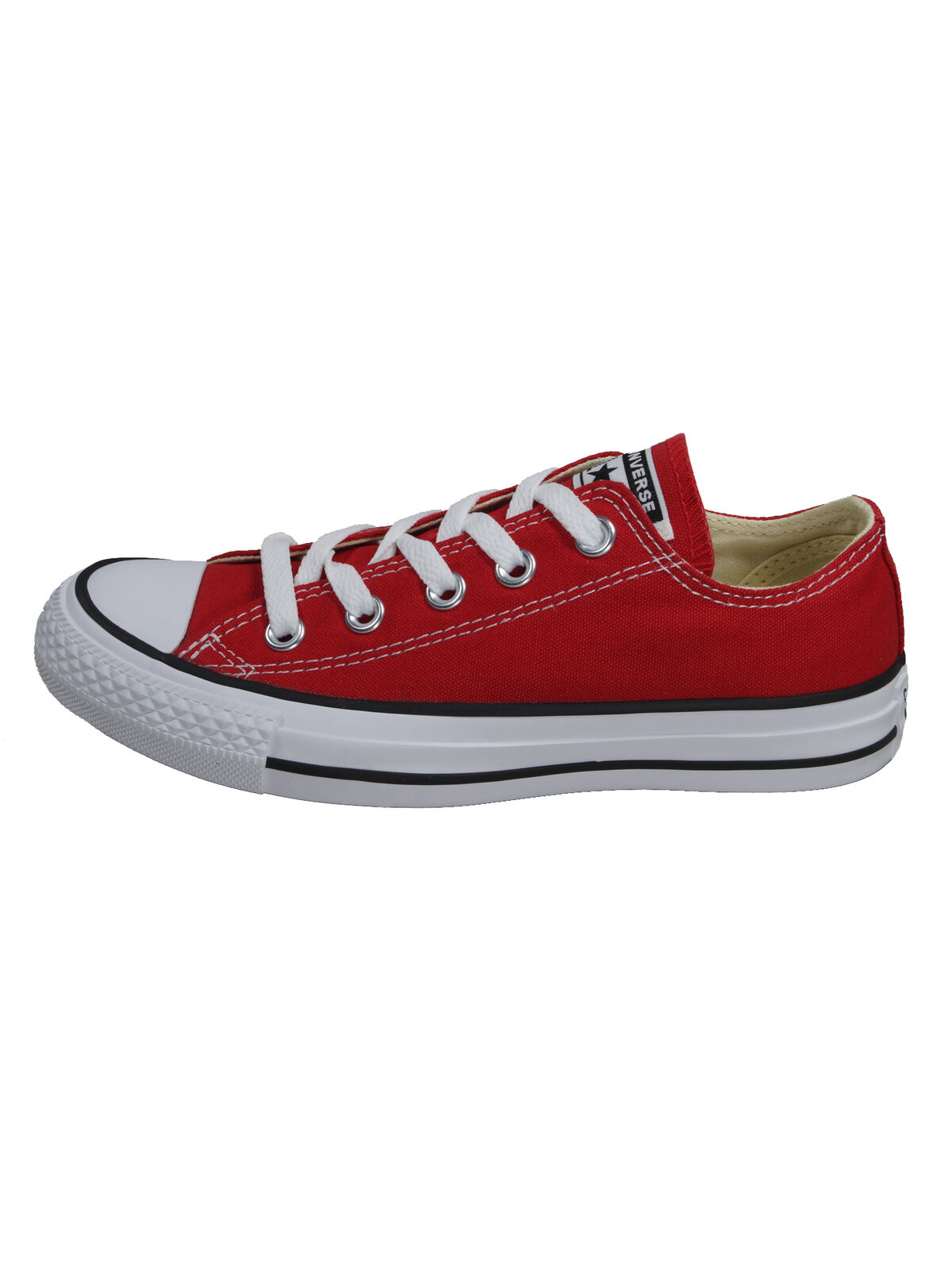 Converse Chaussures Hommes Ct all star ox rouge lin Baskets taille 43