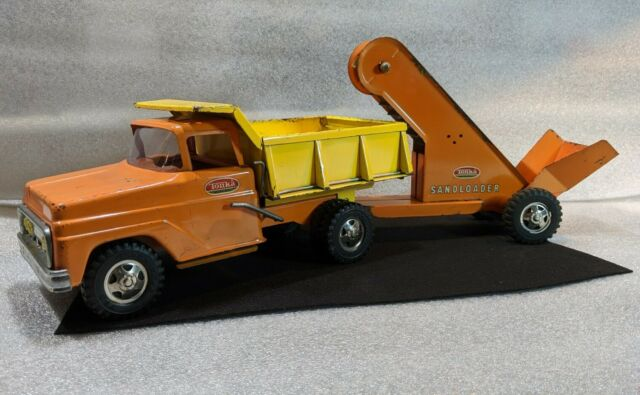 Tonka Mighty Dump Truck Real Wood Body With Adjustable Bed Age 3 For Sale Online Ebay