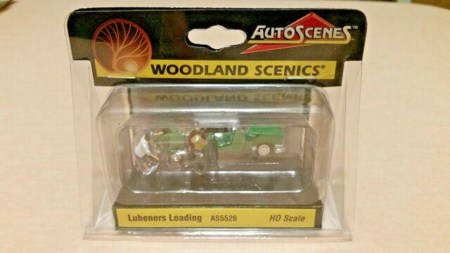 HO Scale Woodland Scenics Lubeners Loading Auto Scene's AS5526