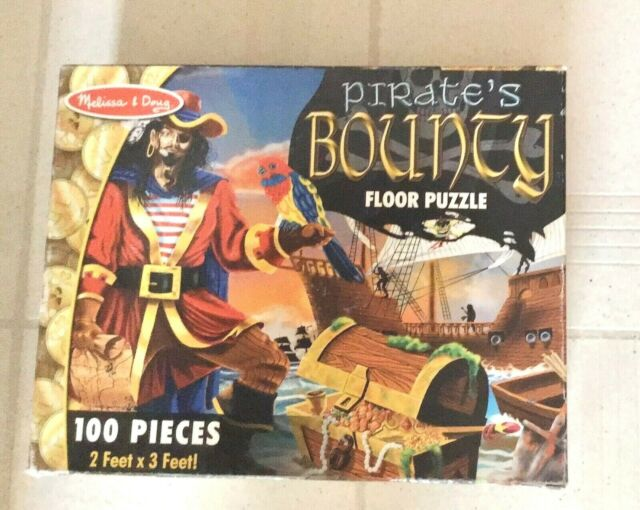 PIRATE/'S BOUNTY~ 2/'  3/'~ 100 pcs ~Pirate Adventure ! ~Melissa and /& Doug #4402