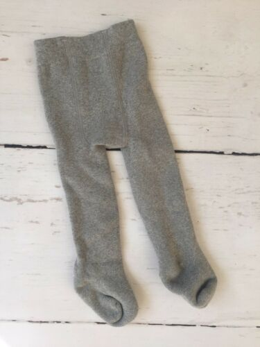 grey 0-6 mos NEW Newborn Baby Girl Extra Thick Cotton Sock Tights NB So soft