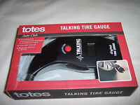 Totes Talking Tire Gauge With Lcd Display
