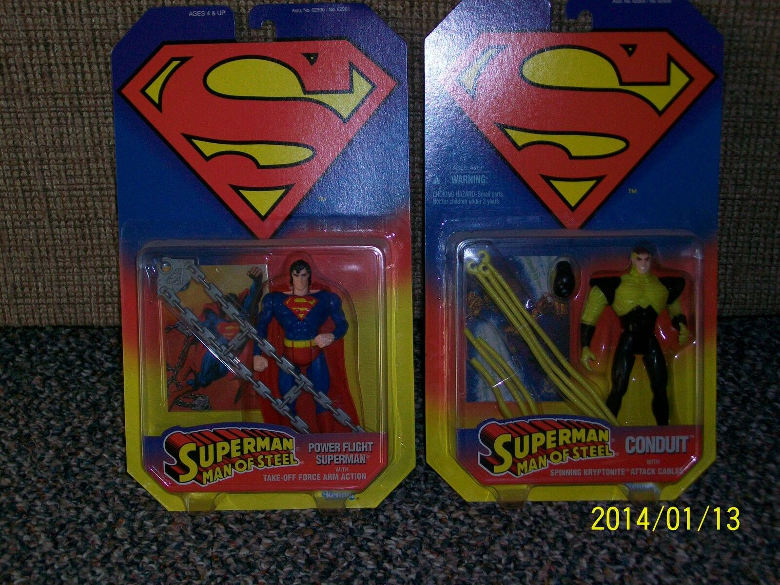 Kenner Superman: Man of Steel set with vehicles