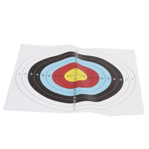 60CM Neu 10 Stücke Papierauflage Scheibenauflage Zielscheibe Bogensport 60