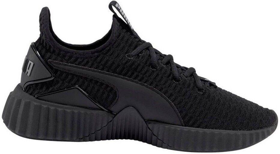 Puma Defy cortos señora talla 36-42,5 36-42,5 36-42,5 zapatos casual zapatos negro nuevo e875d2