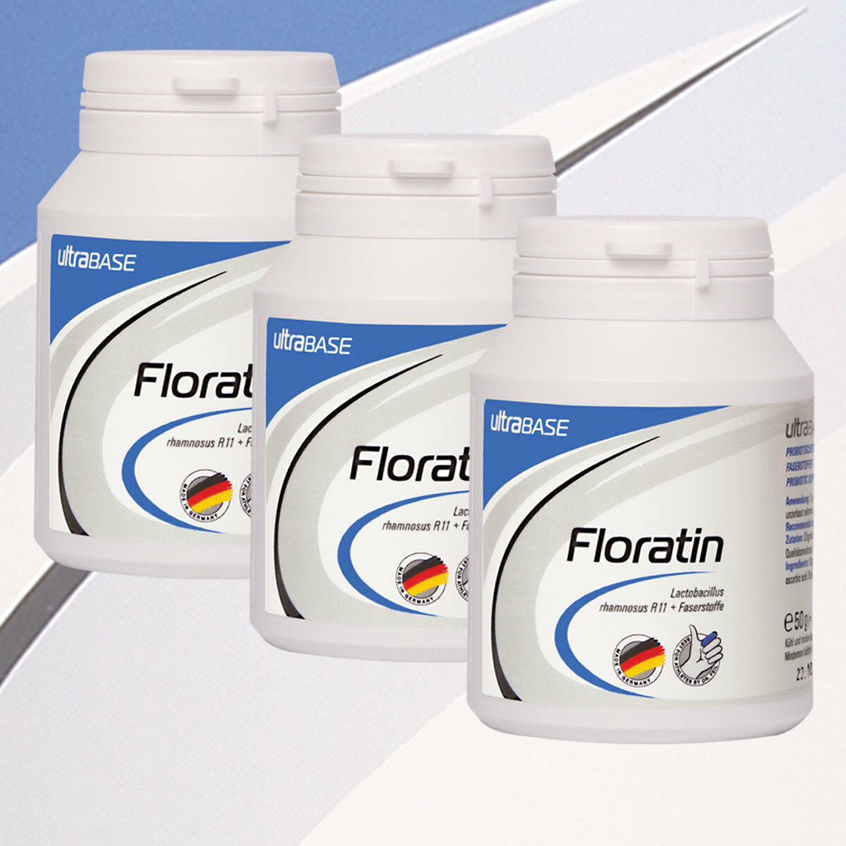 ( 100g) ultra Sports ultrabase floratin cápsulas (3 x 90 UNID)