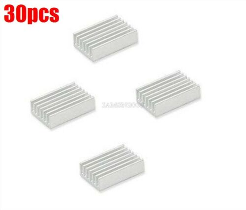 30 Stücke Kühlkörper 20X14X6MM Mini Aluminiumkühlkörper hv