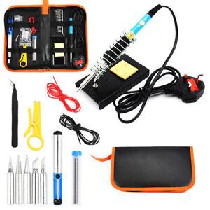 Adjustable-Temperature-60W-Soldering-Iron-Kit-Electronics-Welding-Irons-Tool