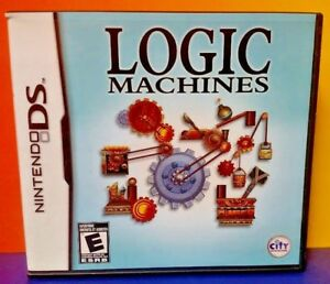 Logic-Machines-Nintendo-DS-DS-Lite-3DS-2DS-Game-Complete-Tested
