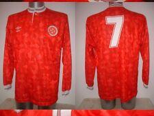 Malta Umbro Adult XL L/S Shirt Jersey Football Soccer Vintage Trikot Maglia