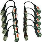 10Pcs BNC Connector Coaxial Cable Adapter CCTV Camera Passive Video Balun