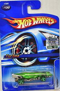 Hot Wheels 2006 Turboa #130 Grün Werkseitig Versiegelt Blut NäHren Und Geist Einstellen Auto- & Verkehrsmodelle