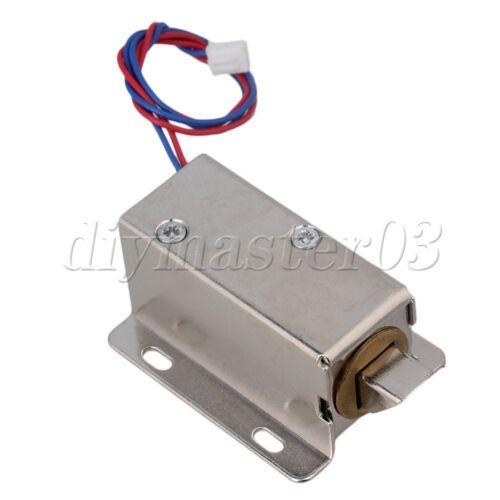 12V Elektroschloss Versammlung Magnet für Türschubladensicherung Zunge Untern