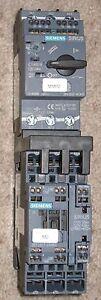 Siemens Sirius Contactor 3zx1012 Ort22 1aa1 Motor