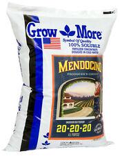 Grow More Mendo Soluble Fertilizer 20-20-20, 25 Pound SAVE $$ W/ BAY HYDRO $$