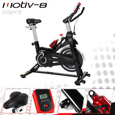 MOTIV-8 Spin Home Gym Exercise Fitness Bike Fitness Cardio Workout Machine
