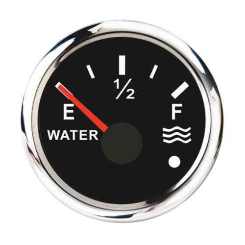 190 Ohm Universal Wasserstandsanzeige Mit Hintergrundbeleuchtung Schwarz
