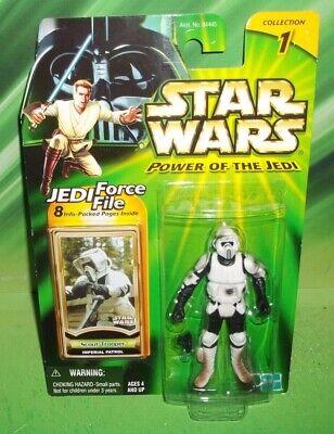 Star Wars POTJ Series Imperial Patrol Biker Scout Trooper Figure